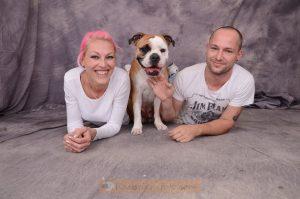 Hundeshooting für Mia und ihre zwei Lieblinge