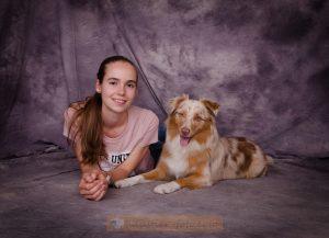 Flavia und Julia Geweinnerin Hundecasting Hundemesse Erding